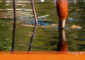 Flamingo Art 2016 (Wandkalender 2016 DIN A3 quer)
