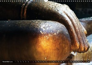 Buddhas deep in the rock (Wall Calendar 2015 DIN A3 Landscape)