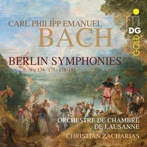 Berliner Sinfonien Wq 174,175+178-181