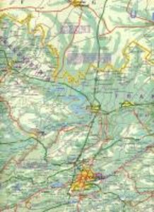 Romania & Moldova Travel Map