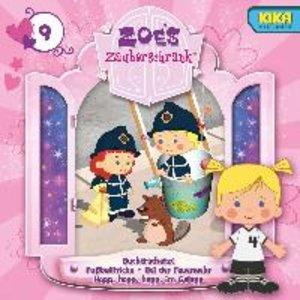 Zoes Zauberschrank 09: Bücherschätze / Fußballtricks / Feuerweh