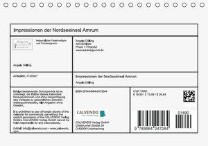 Impressionen der Nordseeinsel Amrum (Tischkalender 2016 DIN A5 q