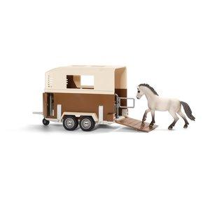 Schleich 42091 - Farm Life: Pferdeanhänger