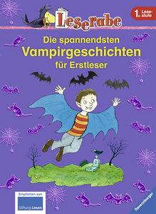 Leserabe: Die spannendsten Vampirgeschichten für Erstleser