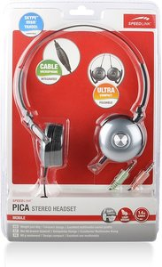 Speedlink SL-8753-SGY PICA Notebook Headset, dark-silver