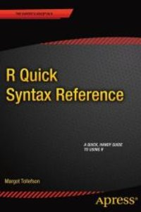 R Quick Syntax Reference