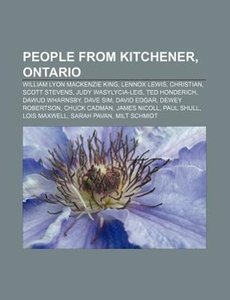 People from Kitchener, Ontario