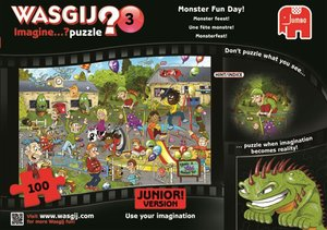19126 - Wasgij - Puzzle -Junior 3 Monsterfest