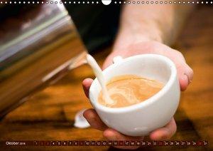 Bohnen, Schaum & Plätzchen - Kaffeegenuss (Wandkalender 2016 DIN