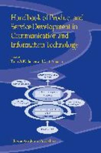 Handbook of Product and Service Development in Communication and
