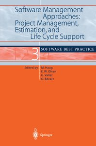 Software Management Approaches: Project Management, Estimation,