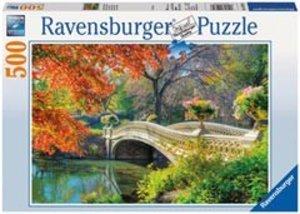 Romantische Brücke. Puzzle 500 Teile
