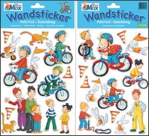 Meine Max Wandsticker: Fahrrad-Sammlung