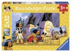 Yakari der kleine Indianer. Puzzle 2 X 12 Teile