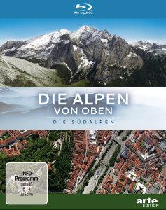 Die Alpen Von Oben-Die Südalpen