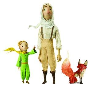 Hape 824768 - Der Kleine Prinz mit Pilot und Fuchs, Figuren Set