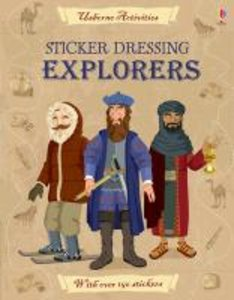 Sticker Dressing: Explorers