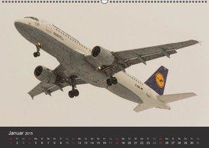 Wenk, M: Verkehrsflugzeuge (Wandkalender 2015 DIN A2 quer)