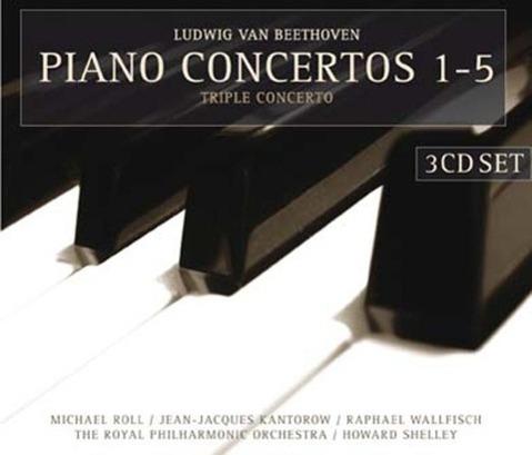 Piano Concertos 1-5 - zum Schließen ins Bild klicken