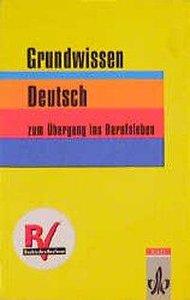 Grundwissen Deutsch