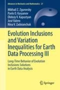 Evolution Inclusions and Variation Inequalities for Earth Data P