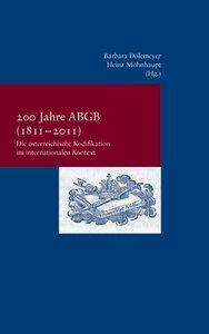 200 Jahre ABGB (1811-2011)