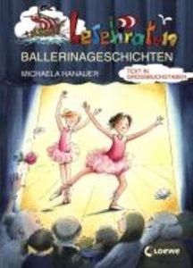 Lesepiraten-Ballerinageschichten. Großbuchstabenausgabe