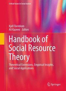 Handbook of Social Resource Theory