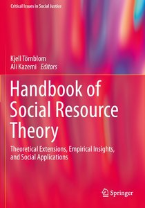 Handbook of Social Resource Theory