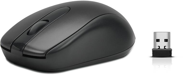 Speedlink MICU-Mouse - Wireless, kabellose 3-Tasten-Maus, schwar - zum Schließen ins Bild klicken