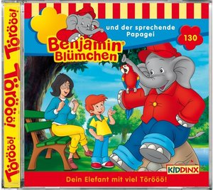 Benjamin Blümchen 130. ... und der sprechende Papagei