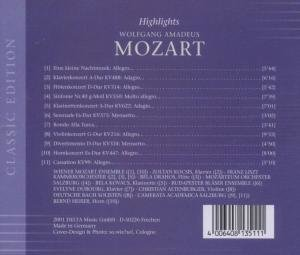 Highlights W.M.Mozart