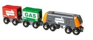 Brio 33259 - Frachtzug, Güterzug mit 2 Waggons