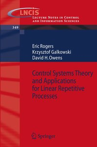 Control Systems Theory and Applications for Linear Repetitive Pr