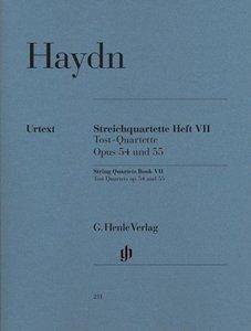 Streichquartette Heft VII Opus 54 und 55