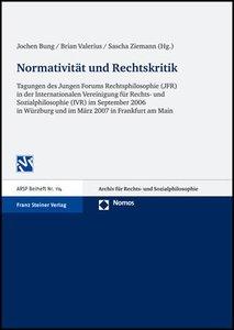 Normativität und Rechtskritik