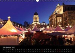 Berlin zur blauen Stunde (Wandkalender 2016 DIN A3 quer)