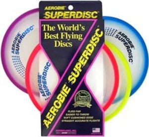 Invento 360150 - Aerobie: Wurfring Superdisc, 25 cm, sortiert, 1
