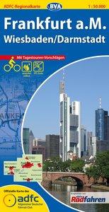 ADFC-Regionalkarte Frankfurt a. M. 1 : 50 000