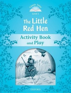 The Little Red Hen Activity Book & Play
