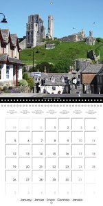 South West Great Britain (Wall Calendar 2015 300 × 300 mm Square