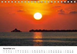 Malediven - Das Paradies im Indischen Ozean I (Tischkalender 201