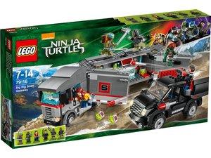 LEGO ® Duplo 79116 - Flucht mit dem Sattelzug