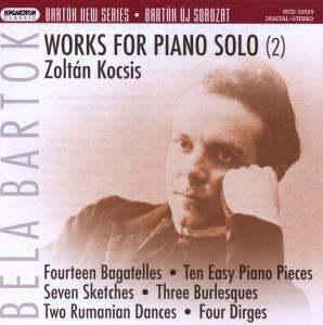 Werke für Klavier solo vol.2 (Bartok new series)