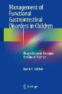 Management of Functional Gastrointestinal Disorders in Children