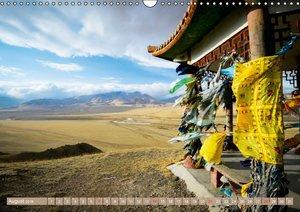 Leben in der Mongolei (Wandkalender 2016 DIN A3 quer)