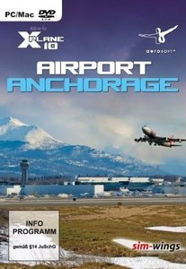 X-Plane 10 - Airport Anchorage