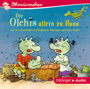 Die Olchis allein zu Haus und zwei Geschichten von Katharina Vöh