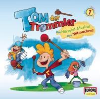 Tom, der Trommler. Tom, Flo und Trixi sammeln für die Klangscha - zum Schließen ins Bild klicken