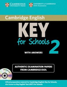 Cambridge Key English Test for Schools 2. Student's Book Pack (S